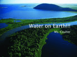 Water on Earth!!!