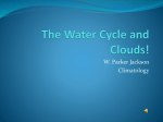 Water Cycle and Clouds 2
