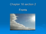Chapter 16 section 2 fronts