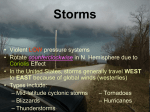 Storms PowerPoint