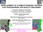 DEVELOPMENT OF A REMOTE-SENSING TESTBED FOR