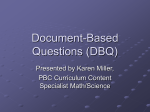 Document-Based Questions ( DBQ )