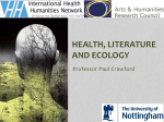 Health, Literature and Ecology