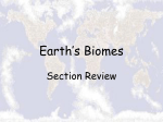 Biomes of Our World
