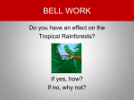 Where are the Tropical Rainforests