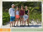 Students, parents and research collaborators in Culebra: MaryAnn lucking from... Erika Bucior, Adri Morales and her parents.