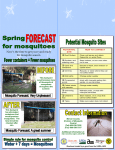 Now's the time to get your yard ready for mosquito season. ‰
