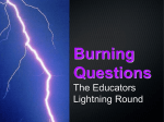 Burning Questions - School of Journalism and Mass Communication