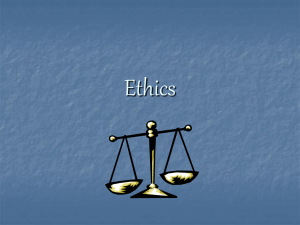 Ethics and Argumentation - www.micheleweber.homestead.com