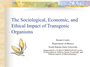The Sociological, Economic, and Ethical Impact of