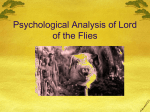Psychological Analysis of Lord of the Flies