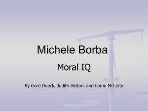 Michele Borba - Inclusive Special Education Wiki