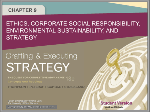Crafting & Executing Strategy 18e