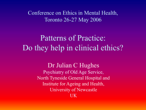 Patterns of Practice - Journal of Ethics in Mental Health > Journal of