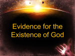 The Cosmological Argument - Fifth Street East Church of Christ