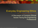 Module 1: Everyday Engg Ethics