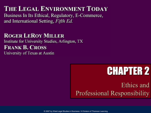 Legal Environment Today, 5e