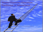 Values/Character Education: Traditional or