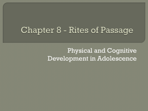 Chapter 8 - Rites of Passage