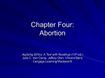 Abortion - Cengage Learning