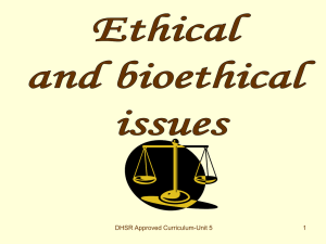 09. Ethical and bioethical issues