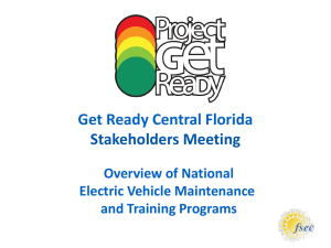 EV Maintenance and Training Programs