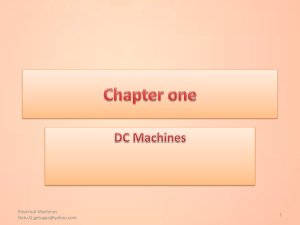 DC MachinesPPT1 - Electrical and Computer Engineering