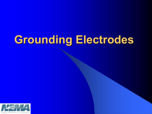 NEMA Grounding Electrodes Rev 10 with CS review