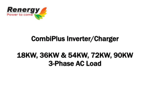 3 phases Charger Inverter Introduction