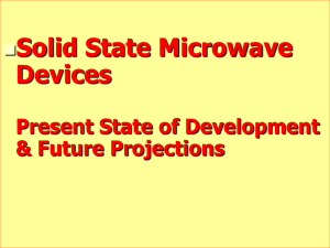 Historical evolution of Microwave Sources