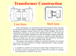 Classification of transformers according to turn ratio