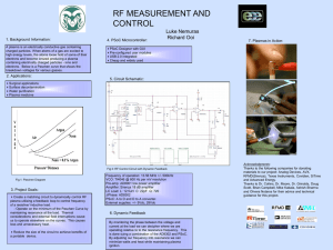 RF Measurement and Control - Colorado State University