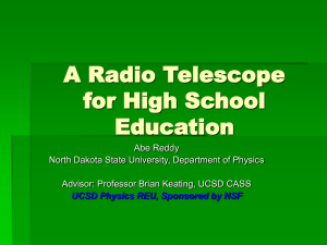 An Inexpensive Radio Telescope