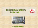 3.10 ELECTRICAL SAFETY
