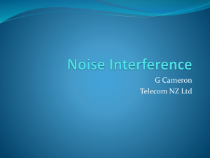 Noise Interference