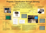 Property Classification through Sensing MIDN 1/C Nicholas