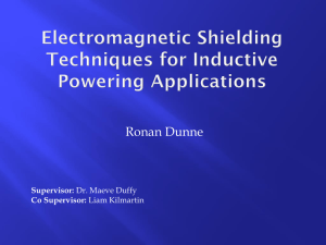 Electromagnetic Shielding Techniques for Inductive
