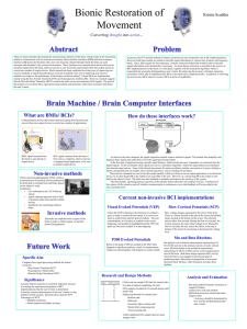 Template for poster presentations