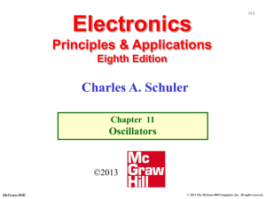 Chapter 11 - Oscillators