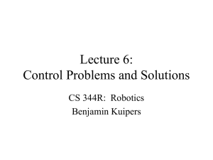 Lecture 6: Problems and Solutions