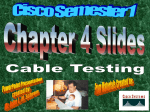 CCNA1 3.0-04 Cable Testing