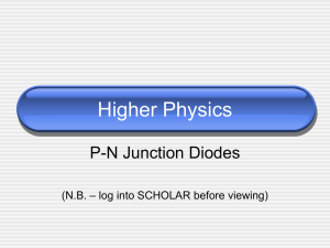 Higher Physics - Kelso High School