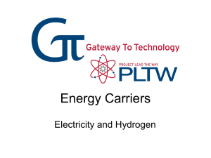 Energy Carriers - mygatewaytotechnologyclass