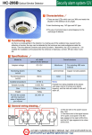 HC-406B Optical Smoke Detector