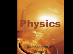 Physics-Science and Me Grade 5
