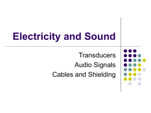 Electricity and Sound