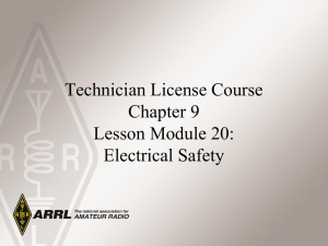 Module 20 – Electrical Safety C9