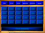 Jeopardy - Ms Jilesen