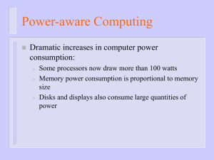Power-aware Computing slides