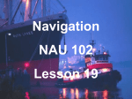 Lesson 19 - Navigational Equipment